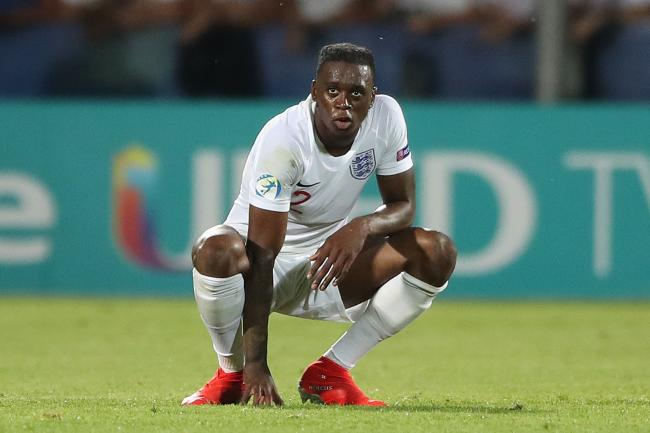 Aaron Wan-Bissaka scored a stoppage time own goal in Tuesday's Euro 2019 defeat to France