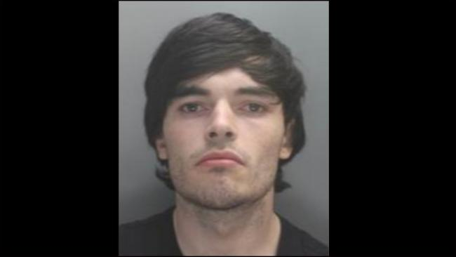 Sonny Thomas, 21, is wanted in connection with a wounding which occurred in Rhyl on July 3. Picture: Twitter/ NWP Rhyl