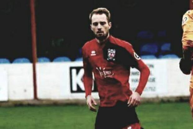 Ben Maher opened the scoring for Prestatyn Town