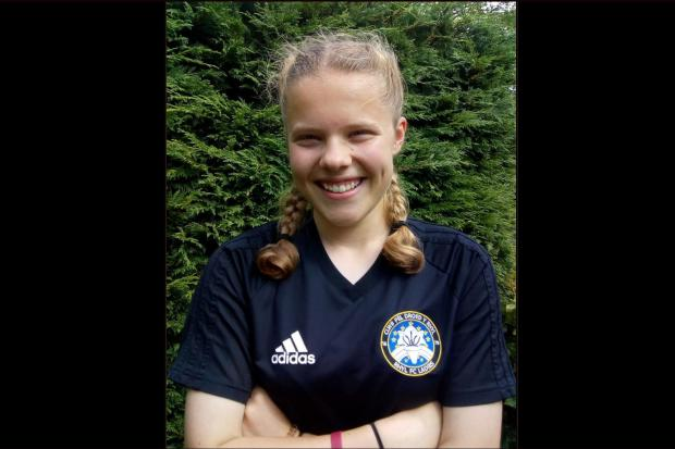 Emily Bentley, 16, will join Burnley Women FC in August
