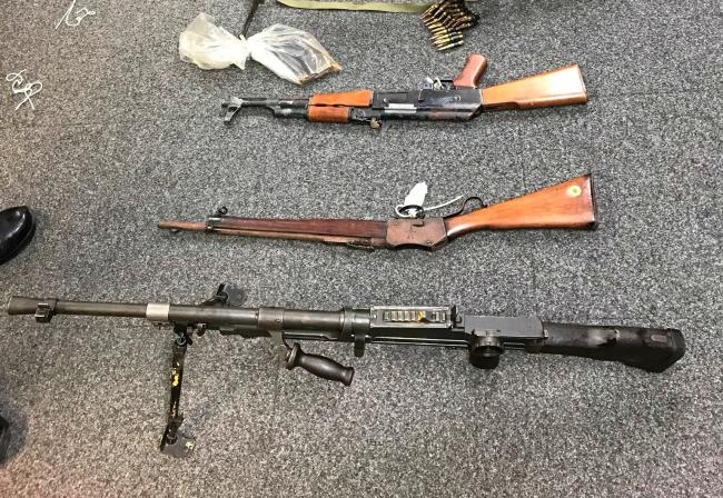 A two week firearm surrender will allow people across North Wales to dispose of weapons and ammunition