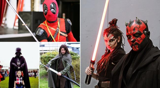 Spencer Wilding will be bringing some of his acting friends to the first Comic Con event