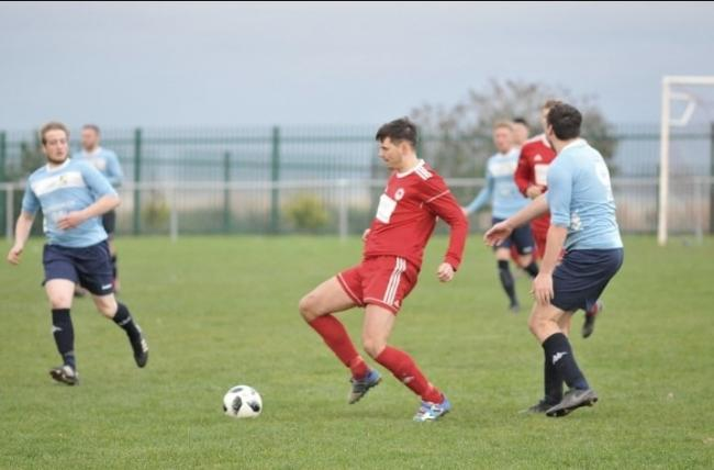 Prestatyn Sports conceded nine in their defeat to Holyhead Hotspur (Photo by Damon Mead)