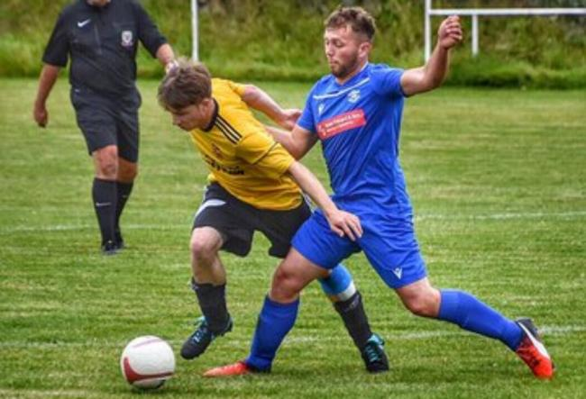 Action from Amlwch Town's late victory over Aberffraw