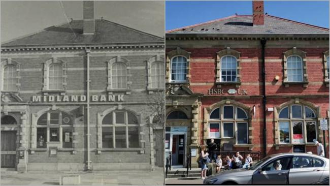 Then and nowfor the Prestatyn Nigh Street stalwart. Picture:  HSBC Archives