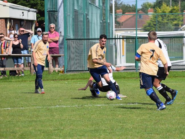 Kinmel Bay were beaten at Llanfairfechan Town in the JD Welsh Cup