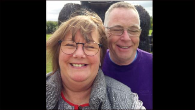 Cathie Denman-Foulkes and Tony Foulkes