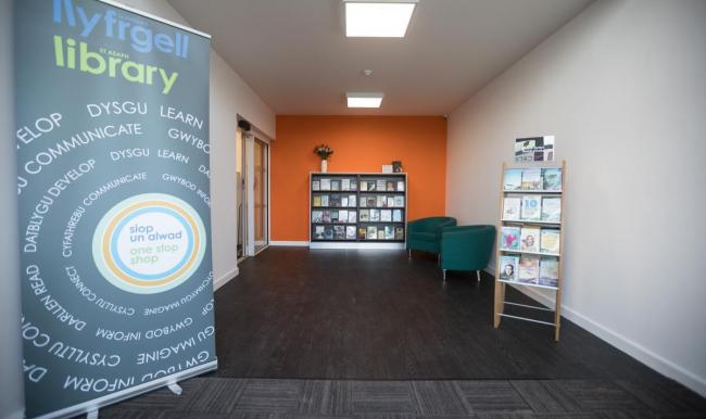 St Asaph Library will be among those participating in Libraries Week 41. Picture: Don Jackson-Wyatt