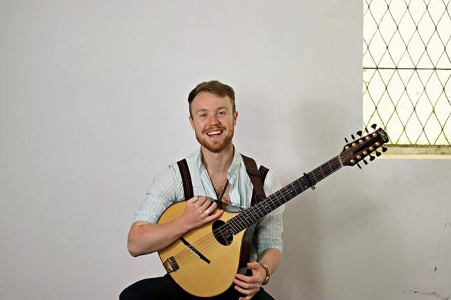 Jack Rutter will appear at Folk at the Halll on October 12. Picture: Facebook/ Folk at the Hall