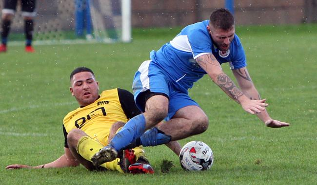 Nantlle Vale suffered an FAW Trophy loss to Brymbo
