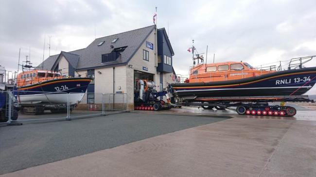 Two services within four hours for Rhyl RNLI volunteers. PICTURE: RNLI/Paul Frost MBE