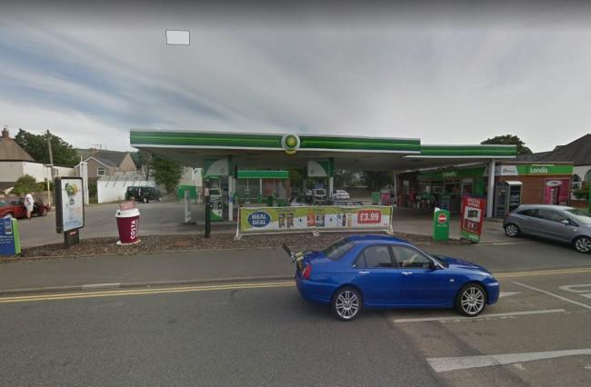Police are in attendance at the BP Garage on Marine Road Prestatyn. Picture: Google Street View