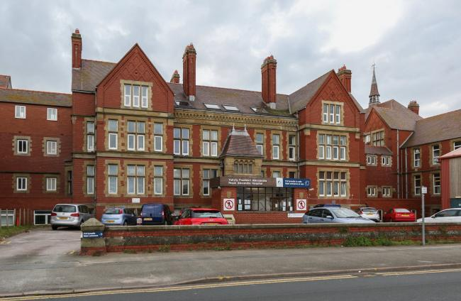 Royal Alexandra Hospital in Rhyl