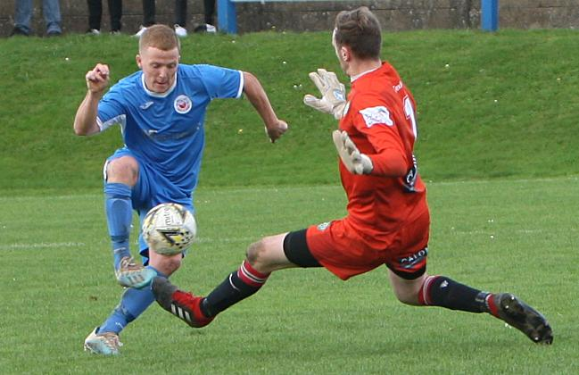 Nantlle Vale picked up an outstanding cup win over Llanrug United