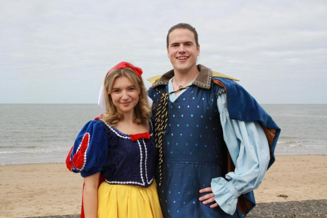 Laura Loutit, Snow White, with Aiden Banyard, the Prince