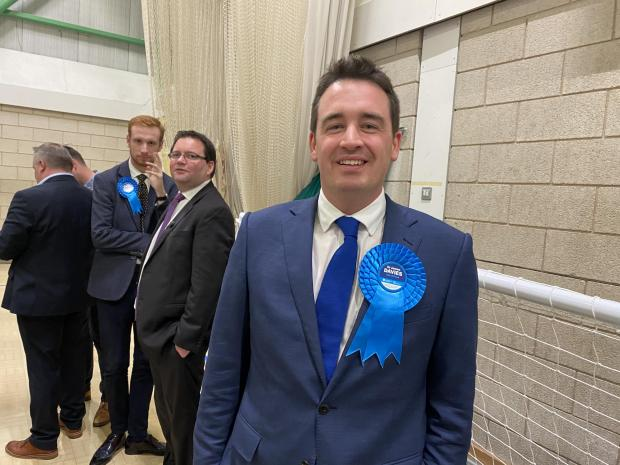 Rhyl Journal: James Davies took the Vale of Clwyd seat with 17,270 votes