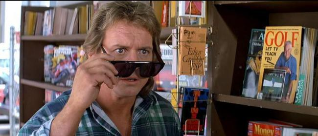 Rowdy Roddy Piper stars in They Live at The Little Theatre. Picture: Facebook/ They Live