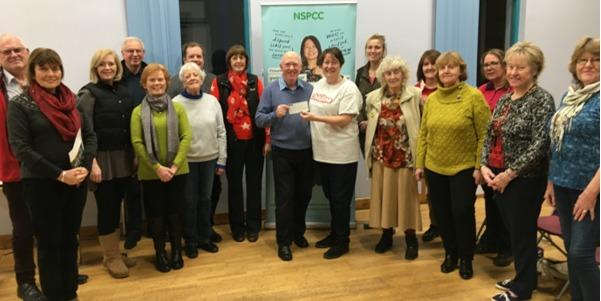The concert helped raise £400 for Childline Prestatyn.