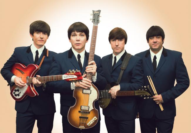 To tie in with the town's link with the Beatles, popular tribute act The Mersey Beatles will perform
