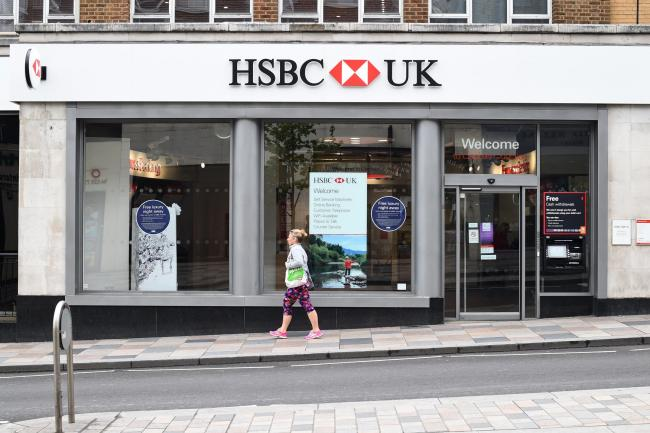 Full list of all 27 HSBC branches that are closing