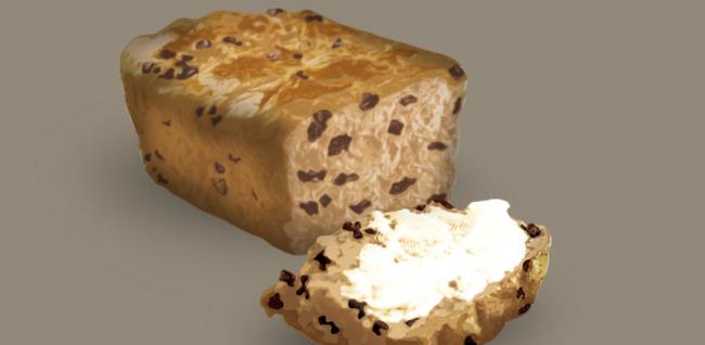 Bara Brith, essentially translating to 'speckled bread'