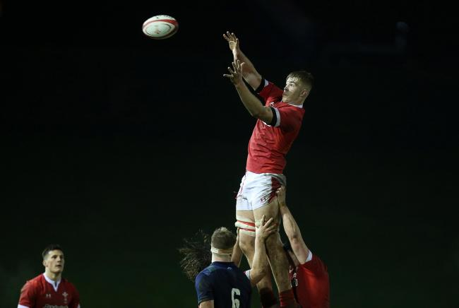 Action from Wales' defeat to Scotland at Stadiwm Zip World (Photo: WRU Twitter)