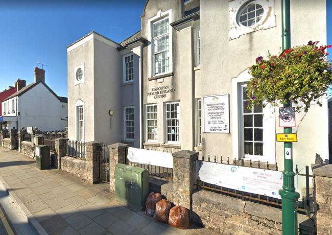 The Denbighshire Voluntary Services Council in Ruthin. Picture: Google Street View