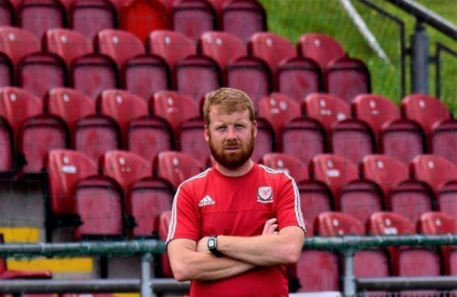 Conwy Borough manager Matthew Jones