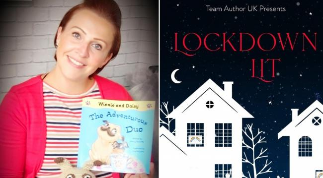 Stacey Radcliffe who recently published a children's book contributed a poem to unique book Lockdown Lit