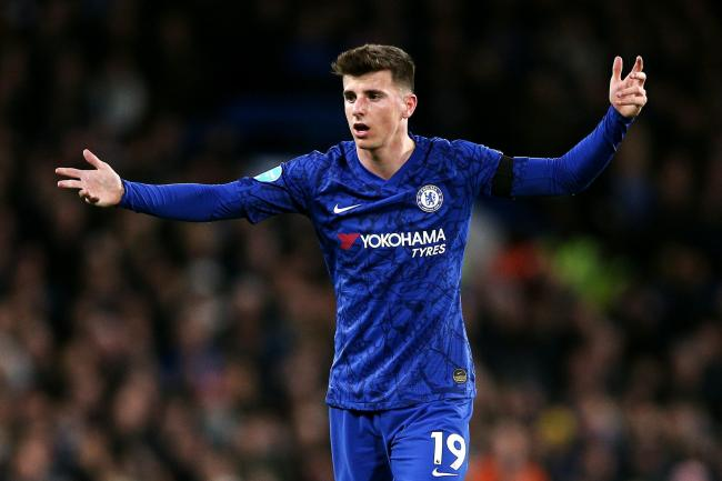 Mason Mount, pictured, has been praised by Chelsea boss Frank Lampard