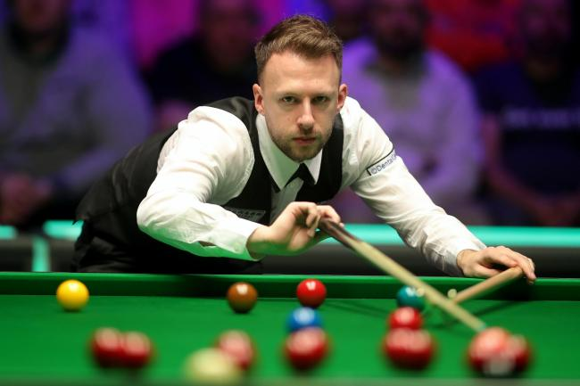 Judd Trump defeated John Higgins to reach the English Open final