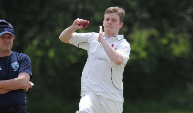 Abergele's strong bowling display secured their first victory of the season