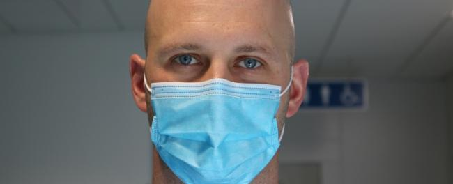 Patients and visitors will be encouraged to wear face masks when visiting all hospitals in North Wales
