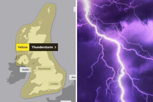 Four-day weather warning in place across North Wales with thunderstorms set to batter region