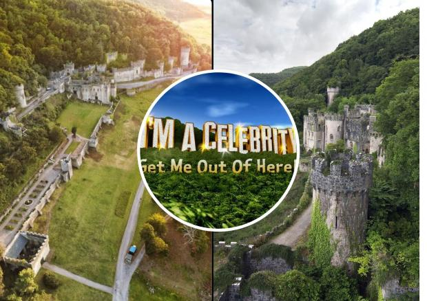 Rhyl Journal: Gwrych Castle is home to I'm a Celeb launching this weekend.
