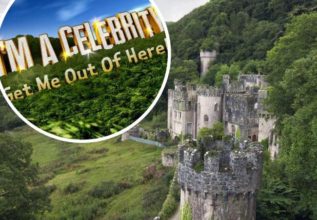 Gwrych Castle in Abergele is hosting this year's series of I'm a Celeb