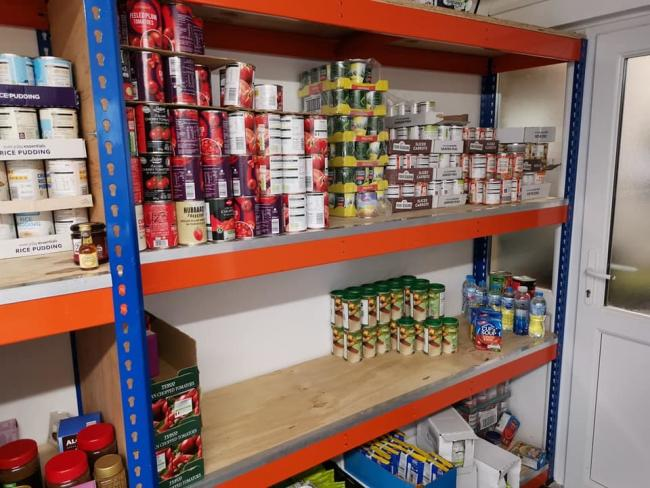 The Kings Storehouse, Foodbank Rhyl/Facebook