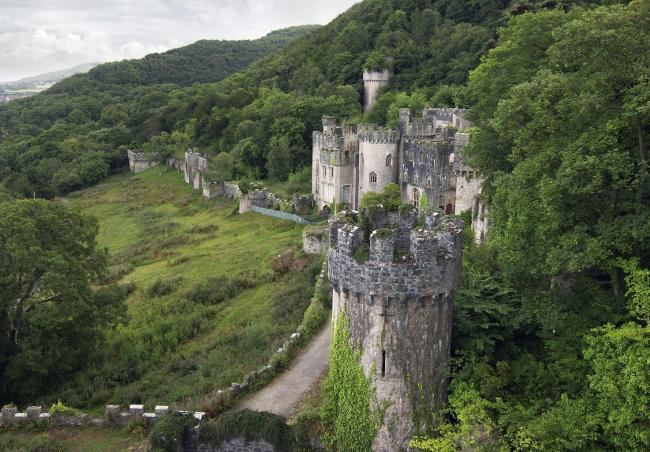 Gwrych Castle is hosting the 20th series of I'm A Celeb, which starts on November 15