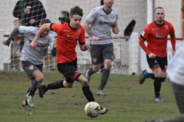 Sam Duffy has agreed to stay on at Prestatyn Town