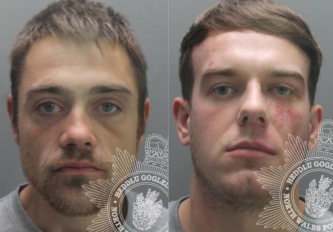 Eamon O'Rourke and Nicolas Williams. Pictures: North Wales Police