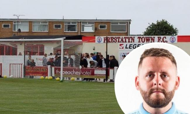 Ben Heath (inset) has been appointed as Prestatyn Town FC boss to rebuild the former Welsh Premier League side.