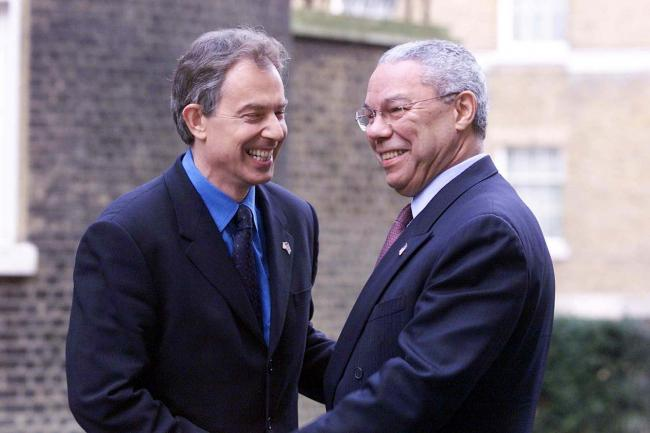 Tony Blair pays tribute to 'towering figure' Colin Powell, his Iraq War  ally | Rhyl Journal