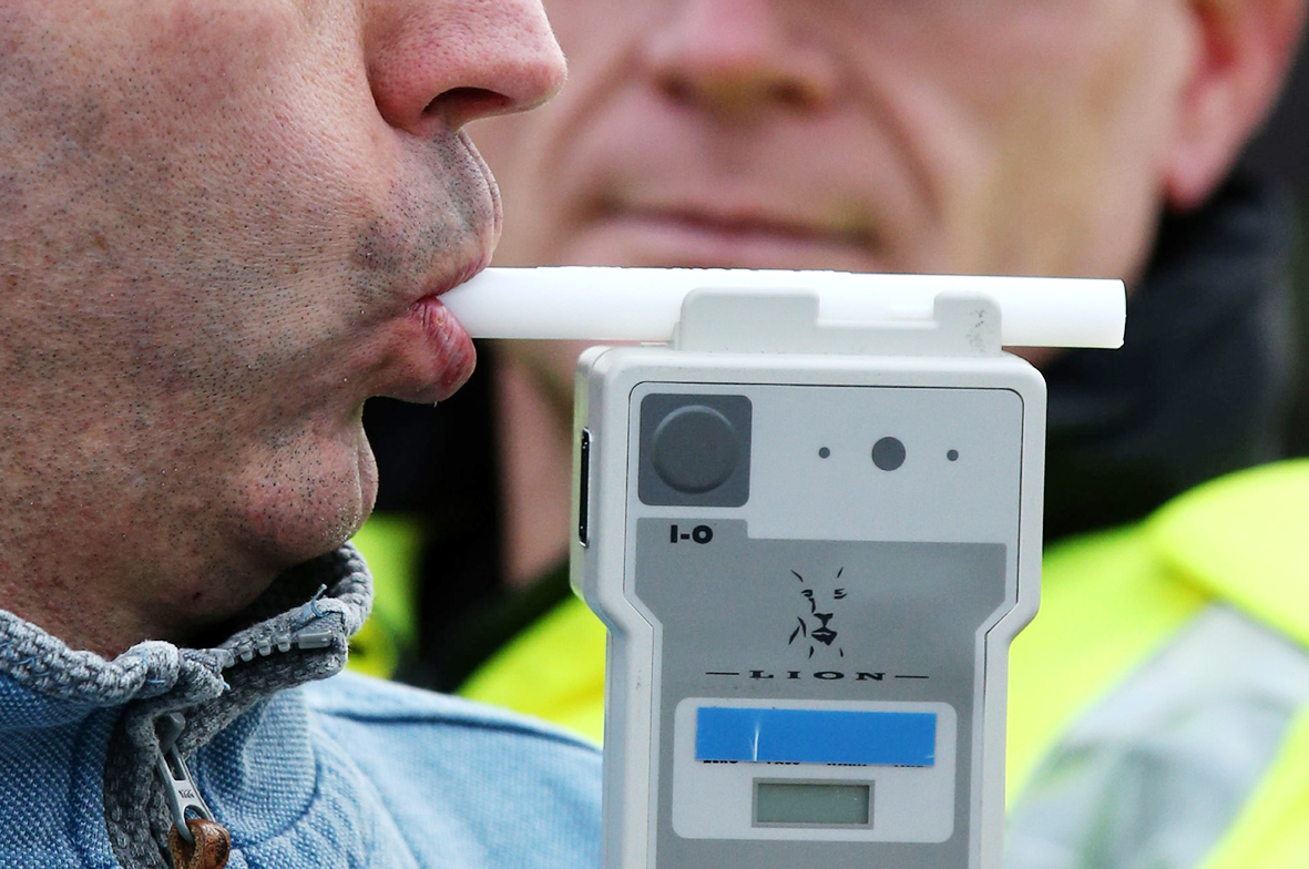 Generic photo of breathalyser. Photo credit: Andrew Milligan/PA Wire