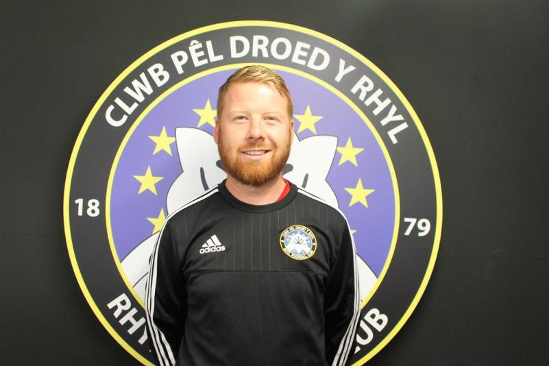 Matthew Jones has been appointed first team manager at Rhyl FC