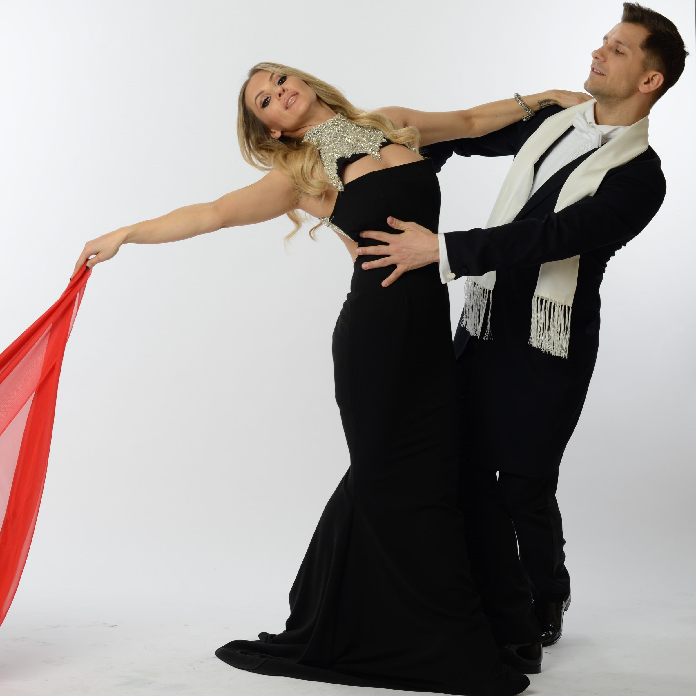 Strictly stars Anya Garnis and Pasha Kovalev will be at The Pavilion on April 14