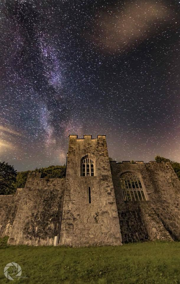 Starry night. Picture: Gwrych Castle Preservation Trust