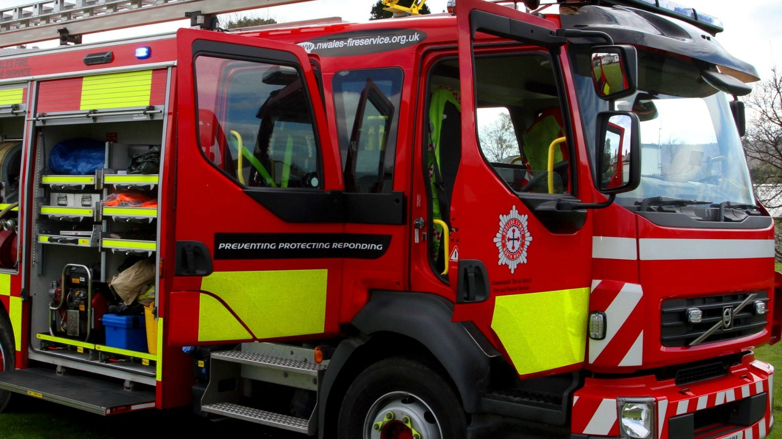 North Wales Fire and Rescue attended the incident