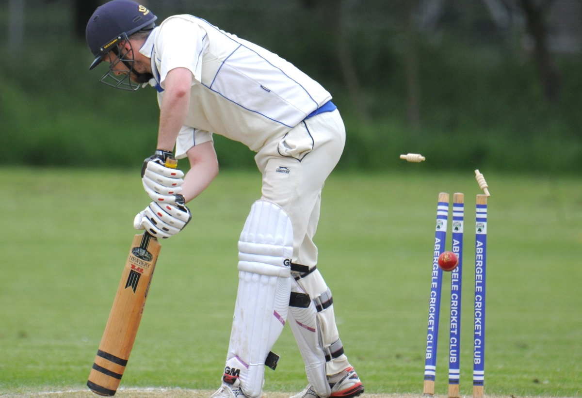 Abergele suffered defeat at the hands of Mochdre