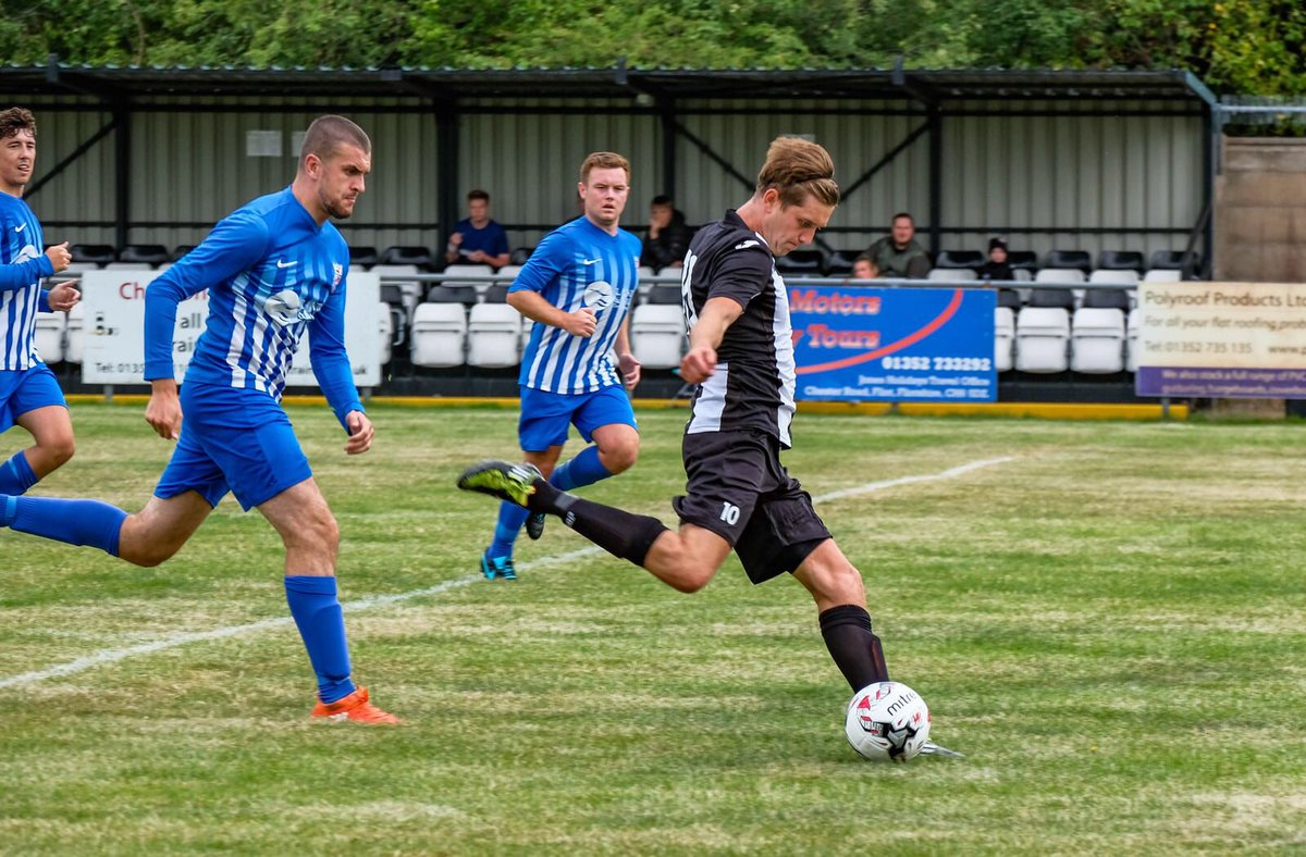 Mark Cadwallader was in fine form for Flint Town United