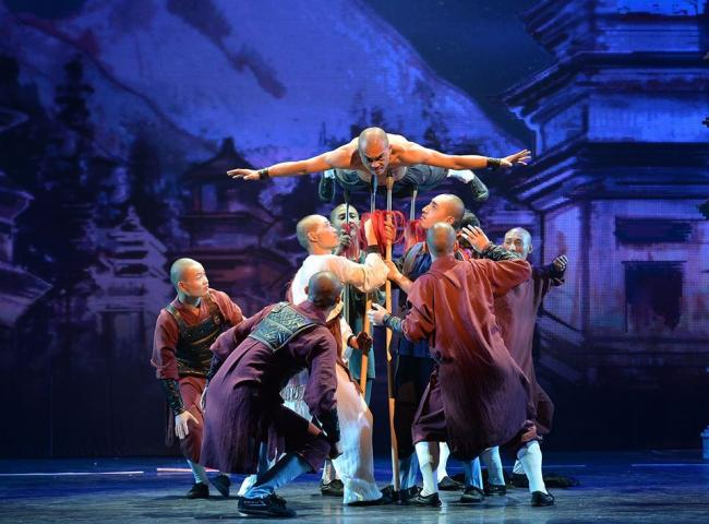 The Legendary Shaolin Monks will lift the lid on their enigmatic art form in Rhyl this October. Picture: Facebook/ Shaolin Show
